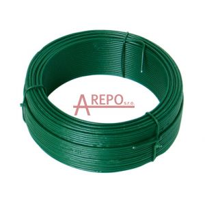 Napínací drôt ZN + PVC