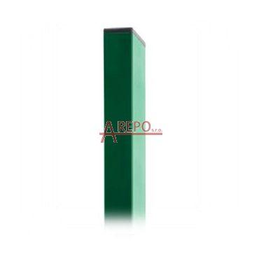 Stĺpik obdĺžnikový Zn+Ral 6005