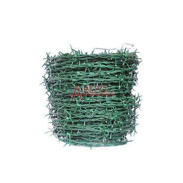 Ostnatý drôt zelený