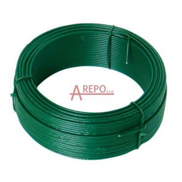 Napínací drôt - zelený