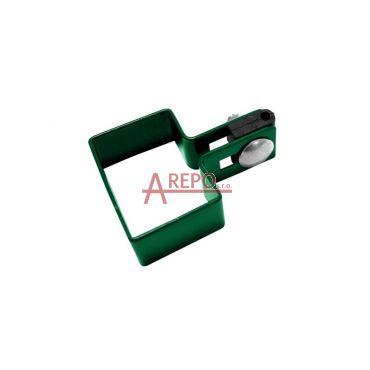 Začiatočná objímka 60 x 40 mm ZN + RAL6005